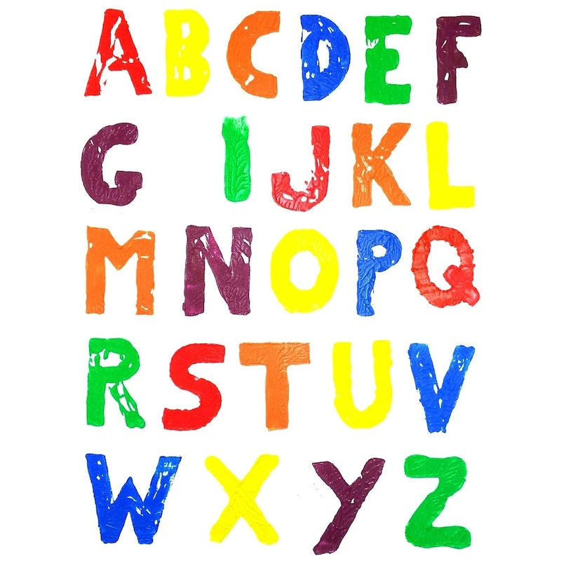 Every letter in the alphabet except H, for heterosexual