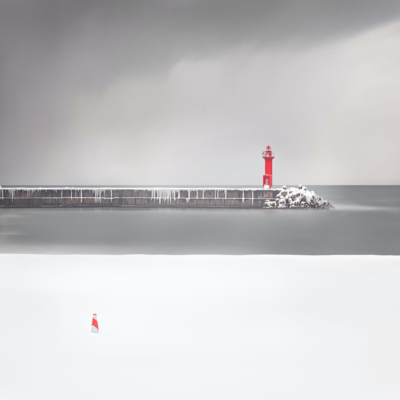 (CreativeWork) Hokkaido lighthouse study #1  by Robert Salisbury. photograph. Shop online at Bluethumb.