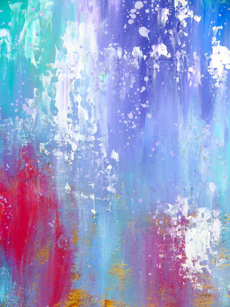 Abstract Art In Pastel Colours Dream Seeker