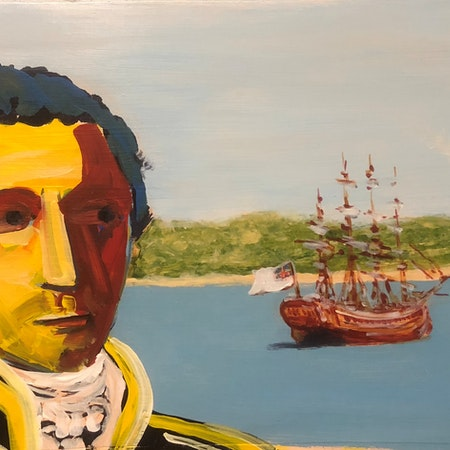 Flinders thought he was the first to know Australia's coastline