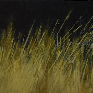 (CreativeWork) grass 1 by Emma Rose. oil-painting. Shop online at Bluethumb.
