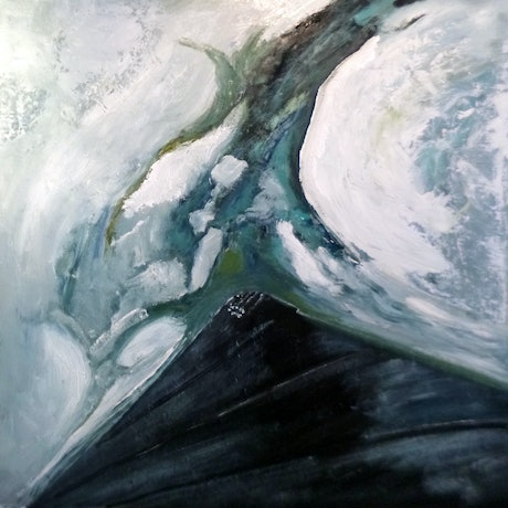 (CreativeWork) Breaking to Starboard (Polar Pioneer) by john butler. Acrylic Paint. Shop online at Bluethumb.