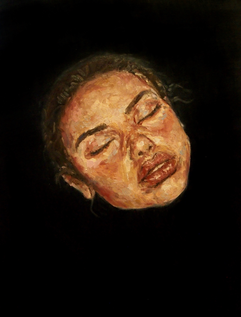(CreativeWork) Ignorance is Bliss by Victoria ter Kuile. oil-painting. Shop online at Bluethumb.