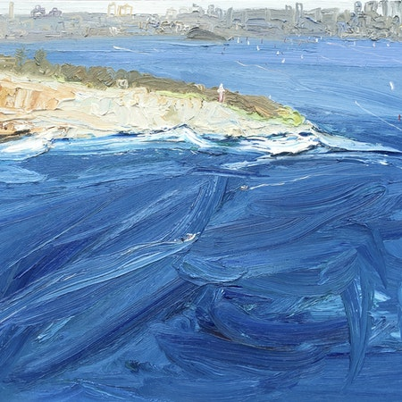 Ferry To The City-Plein Air