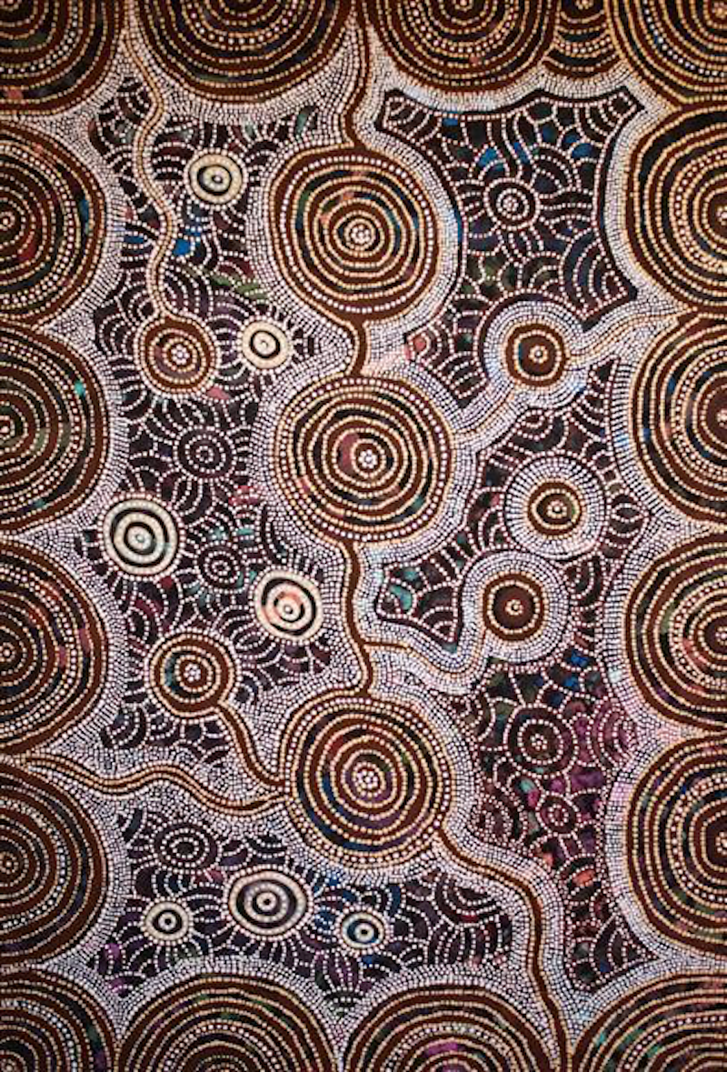 (CreativeWork) Rockholes & Spinifex (18-138) by Ethel (Narelle) Holland. Acrylic Paint. Shop online at Bluethumb.