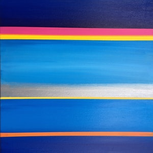 (CreativeWork) blue stripes by tina alesi. #<Filter:0x000055a2acf16a90>. Shop online at Bluethumb.