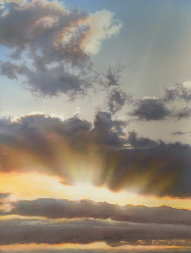 (CreativeWork) Sun So Bright by David Tracey. arcylic-painting. Shop online at Bluethumb.