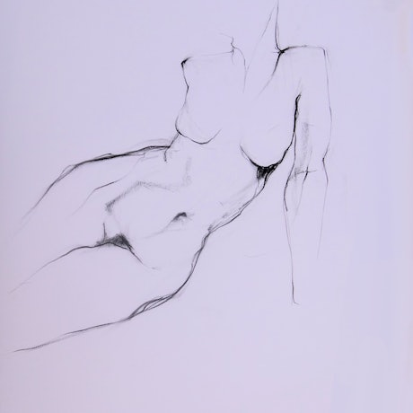 (CreativeWork) Life Drawing | Figure Drawing #15 by Claudia Husband. Drawings. Shop online at Bluethumb.