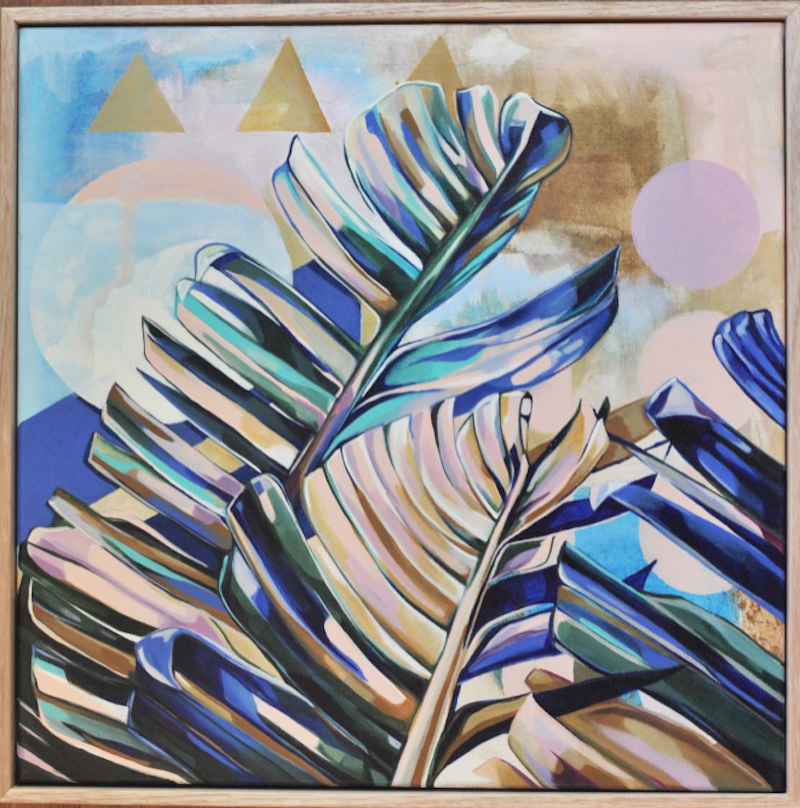 (CreativeWork) Dreamy Leaves by Tamara Armstrong. #<Filter:0x00007f3c340b8750>. Shop online at Bluethumb.