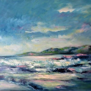 (CreativeWork) Kilcunda by Zdenka Better. oil-painting. Shop online at Bluethumb.