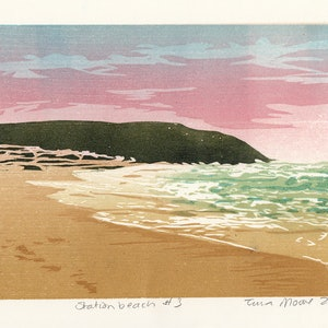(CreativeWork) Station Beach #3 Ed. 1 of 1 by Tina Moore. print. Shop online at Bluethumb.