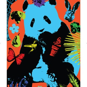 (CreativeWork) A few of our favourite things plus pandas by Gillie and Marc Schattner. print. Shop online at Bluethumb.