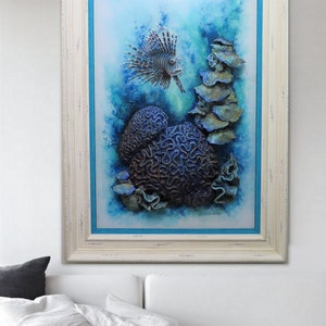 (CreativeWork) Great Barrier Reef by Petra Meikle de Vlas. other-media. Shop online at Bluethumb.