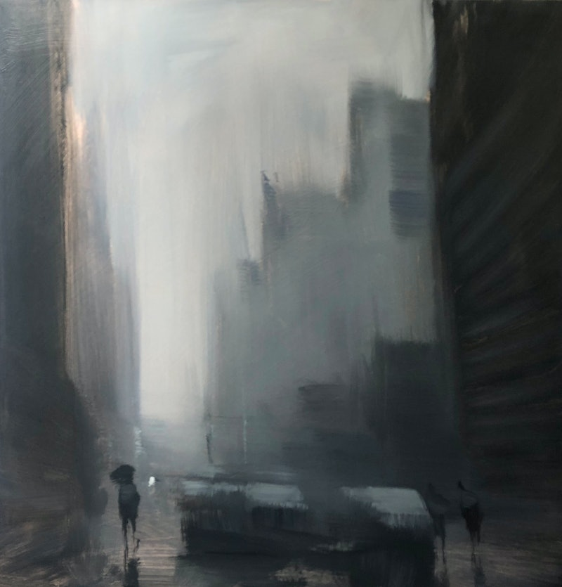 Rainy Sunday By Mike Barr Paintings For Sale Bluethumb Online