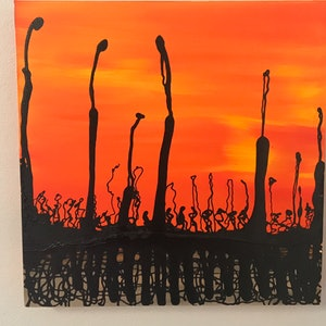 (CreativeWork) Ant City by kelly mathews. arcylic-painting. Shop online at Bluethumb.