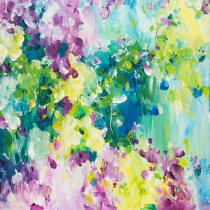 (CreativeWork) Undiscovered by Amber Gittins. arcylic-painting. Shop online at Bluethumb.