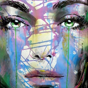 (CreativeWork) SYNERGIES MUSE by loui jover. mixed-media. Shop online at Bluethumb.