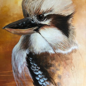 (CreativeWork) King of the bush is he!  by Emma Ward. arcylic-painting. Shop online at Bluethumb.