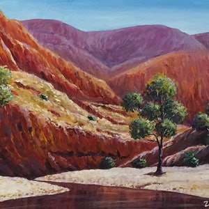 (CreativeWork) Outback by Ernesto Zollo. arcylic-painting. Shop online at Bluethumb.