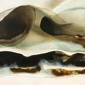 (CreativeWork) Sand Drift 1 by Dinah Wakefield. mixed-media. Shop online at Bluethumb.