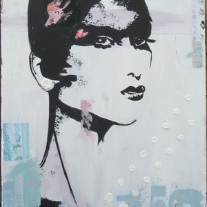 (CreativeWork) NIA by Lesley Taylor. mixed-media. Shop online at Bluethumb.