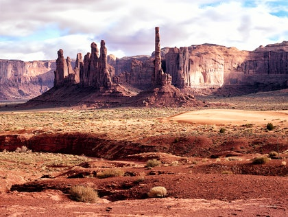 (CreativeWork) Totem Pole Utah by Jim Gow. photograph. Shop online at Bluethumb.