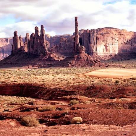(CreativeWork) Totem Pole Utah Ed. 1 of 10 by Jim Gow. Photograph. Shop online at Bluethumb.