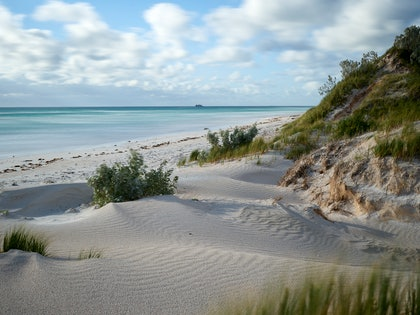 (CreativeWork) Grey Island Western Australia by Jim Gow. photograph. Shop online at Bluethumb.