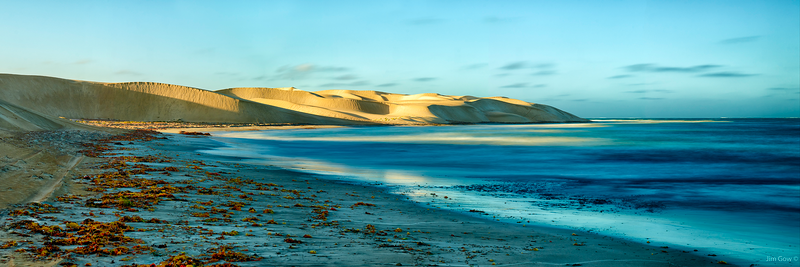 (CreativeWork) African Reef Beach by Jim Gow. photograph. Shop online at Bluethumb.