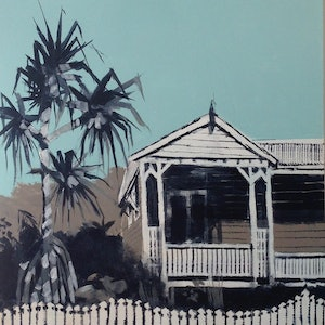 (CreativeWork) Yesteryear by Paul Harbour. arcylic-painting. Shop online at Bluethumb.