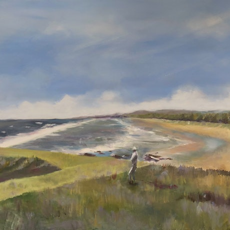(CreativeWork) ACROSS FROM HASTINGS POINT by Paul Harbour. Acrylic Paint. Shop online at Bluethumb.
