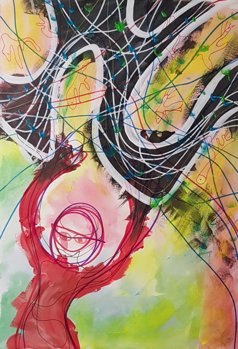 (CreativeWork) WIND-CATCHER by Talia King. mixed-media. Shop online at Bluethumb.