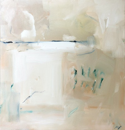 (CreativeWork) Abstract 1 by Margaret Darque. Oil. Shop online at Bluethumb.