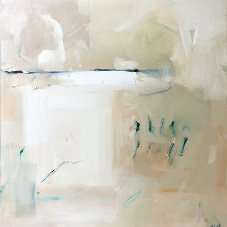 (CreativeWork) Abstract 1 by Margaret Darque. Oil Paint. Shop online at Bluethumb.