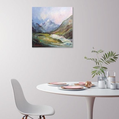 (CreativeWork) Walk towards Mt Cook #2 by Liliana Gigovic. #<Filter:0x000055fe53367228>. Shop online at Bluethumb.