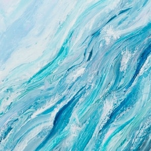 (CreativeWork) UNDERCURRENT by Simone Melville. arcylic-painting. Shop online at Bluethumb.