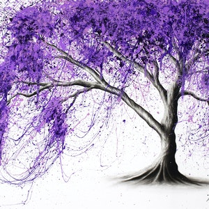 (CreativeWork) Dream Tree Eternity by Ashvin Harrison. arcylic-painting. Shop online at Bluethumb.