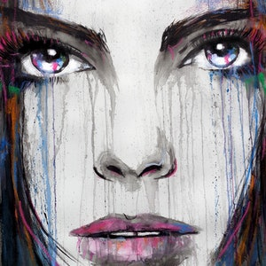(CreativeWork) THERE ARE TIMES by loui jover. drawing. Shop online at Bluethumb.