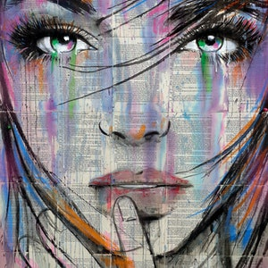 (CreativeWork) EXPRESS by loui jover. drawing. Shop online at Bluethumb.