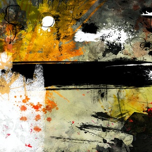 (CreativeWork) One Day At A Time by Lynne Godina-Orme. Mixed Media. Shop online at Bluethumb.
