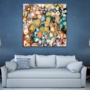 (CreativeWork) Tranquil  by Theo Papathomas. #<Filter:0x0000558db85df200>. Shop online at Bluethumb.
