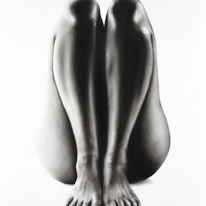 (CreativeWork) Nude Woman Charcoal Study 65 by Ashvin Harrison. drawing. Shop online at Bluethumb.