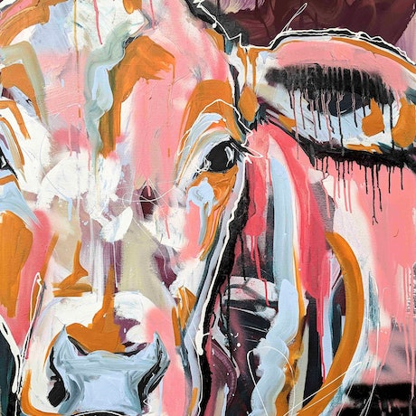 (CreativeWork) The Morning Stare by Aidan Weichard. Mixed Media. Shop online at Bluethumb.