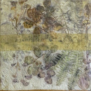(CreativeWork) Garden Reflections #1 by Carolyn Collins. mixed-media. Shop online at Bluethumb.