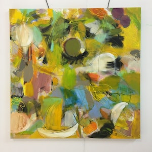 (CreativeWork) Abstract brunch by Anne Monerie-Chauvet. arcylic-painting. Shop online at Bluethumb.