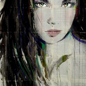 (CreativeWork) SEPTEMBER by loui jover. drawing. Shop online at Bluethumb.