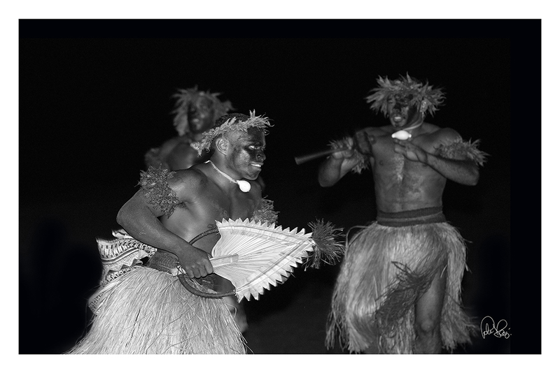 (CreativeWork) P 011 Fijian traditional dancer by Peter Henning. photograph. Shop online at Bluethumb.