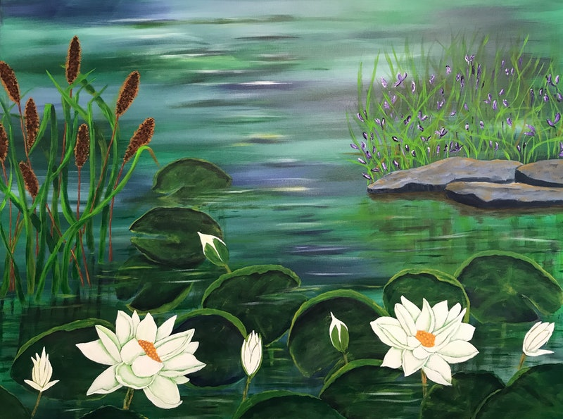 Water lily Green Delight