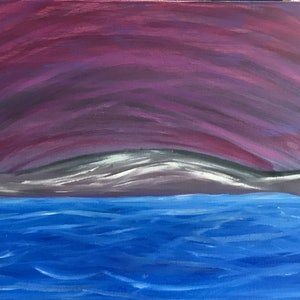 (CreativeWork) Winter Vortex - 2018 by Fiona Cadd. oil-painting. Shop online at Bluethumb.