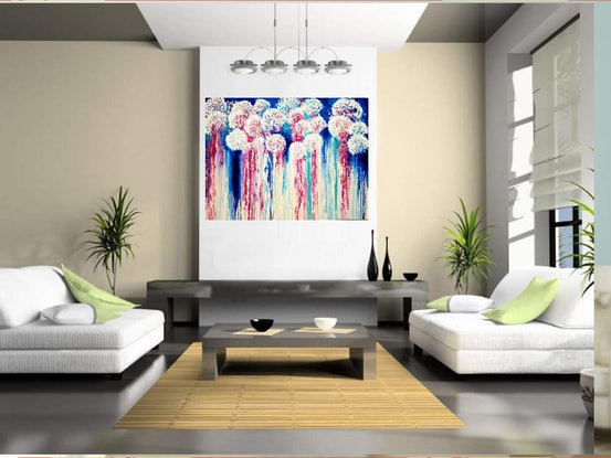 (CreativeWork) Passion by Wendy Hocking. Acrylic Paint. Shop online at Bluethumb.